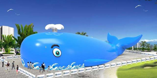 这只巨型蓝鲸,不仅拥有呆萌可爱的外表,其内在更是让人大呼惊喜,近百