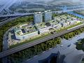 中国轻纺城跨境电商产业园效果图